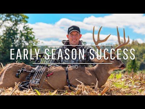 Early Season Success: 2018 Ohio Archery Buck