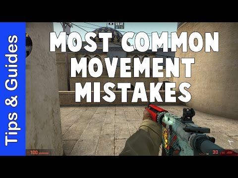 The Most Common Movement Mistake in CS:GO