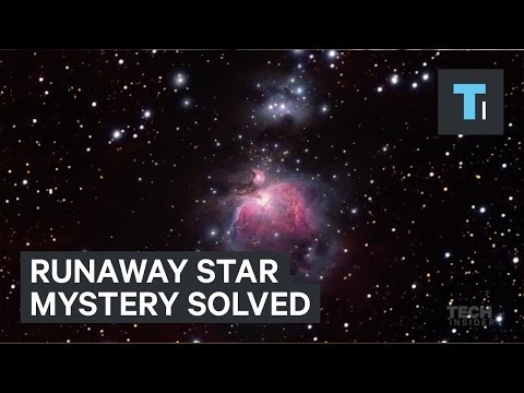 The mystery of a runaway star has finally been solved
