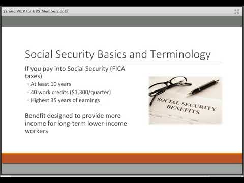 Webinar: My URS Pension and Social Security