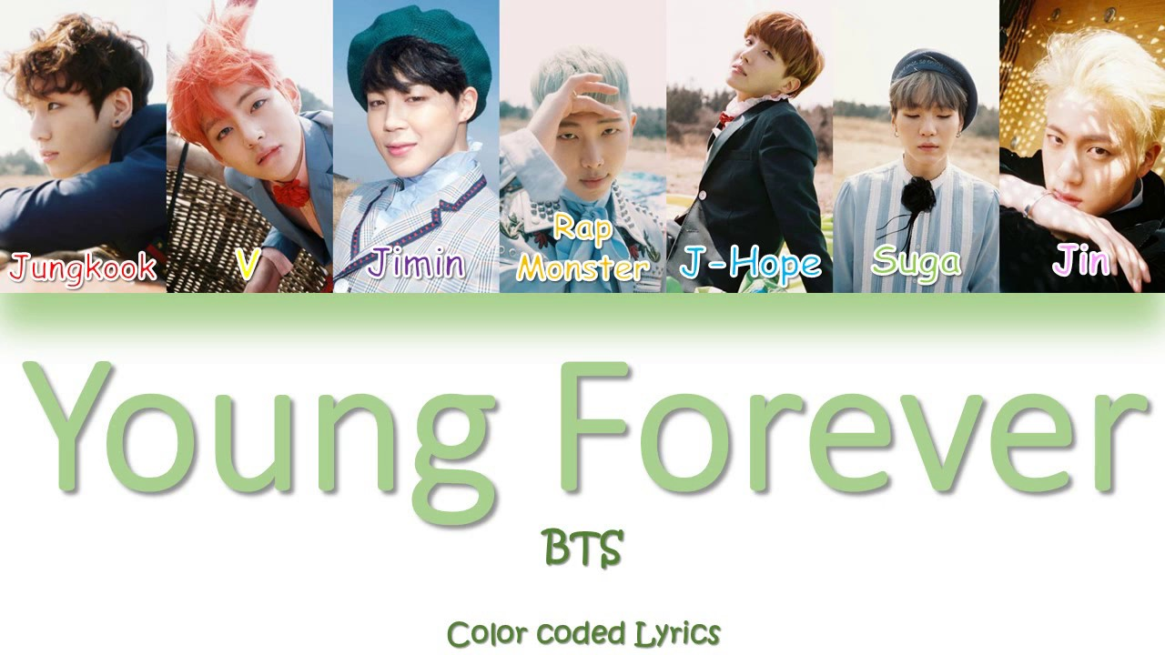 BTS - Young Forever (Color Coded Lyrics/Eng/Rom) - YouTube