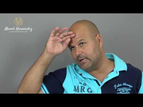 Gregorio: Testimonio de micropigmentación capilar - Manoli Hernández