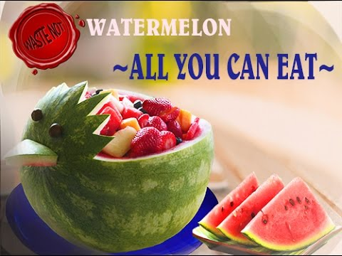 Save money watermelon all you can eat youtube for What parts of a watermelon can you eat