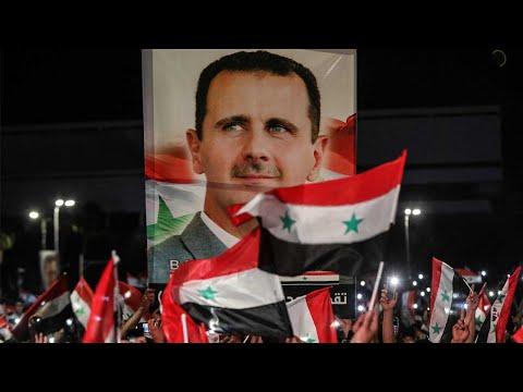 Assad menang pilihan raya Presiden Syria
