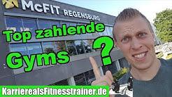 Verdienstmöglichkeiten als Fitnesstrainer - Die TOP 3 bestzahlenden Fitnessstudios in Deutschland