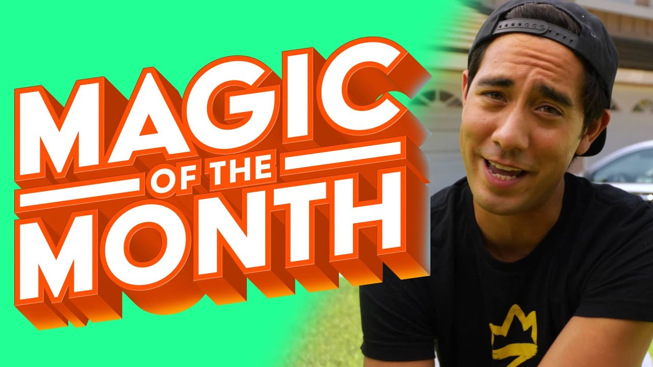 Zach King Reacts to Your Vine Magic | MAGIC OF THE MONTH - July 2020