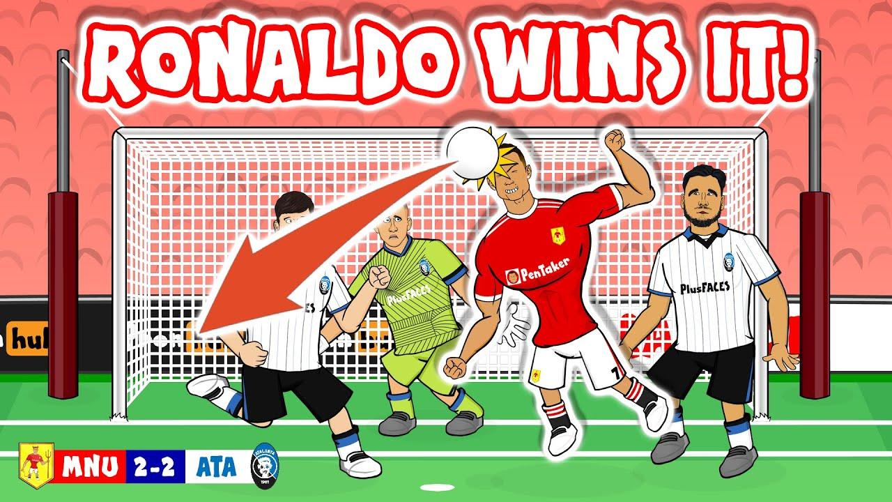 Download 💥Ronaldo wins it against Atalanta!💥 (3-2 Man Utd Champions League 2021 Goals Highlights)