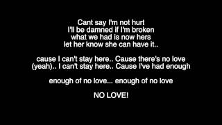 Keyshia Cole - Enough Of No Love (Lyrics Video)