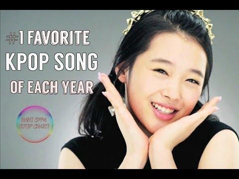 My #1 Favorite Kpop Song Of Each Year (2000 - 2017)