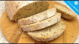 Простой и быстрый рецепт хлеба бездрожжевой/Simple and quick bread recipe