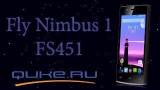 Обзор Fly Nimbus 1 FS451  ◄ Quke.ru ►