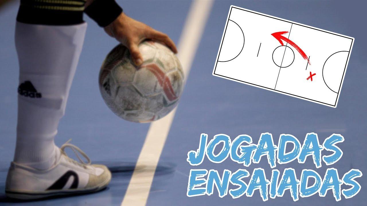 JOGADAS ENSAIADAS DE FUTSAL