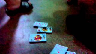 Мои друзья играют в карты дурак