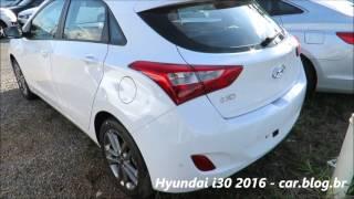 hyundai i30 2016 branco com interior bege detalhes www car blog br