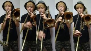 【もののけ姫】アシタカせっ記 トロンボーン5重奏で演奏してみた