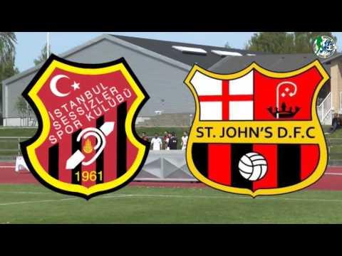 *LIVE of OC Aarhus* (Final) ISTANBUL SESSIZLER vs. ST JOHN`S D.F.C.  2-0