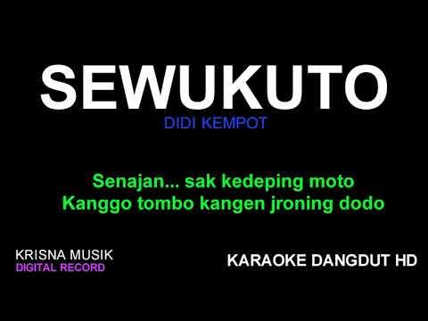 SEWUKUTO KARAOKE DANGDUT HD AUDIO