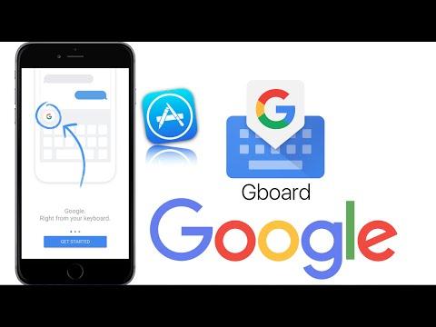 Google Search Keyboard For IPhone Gboard