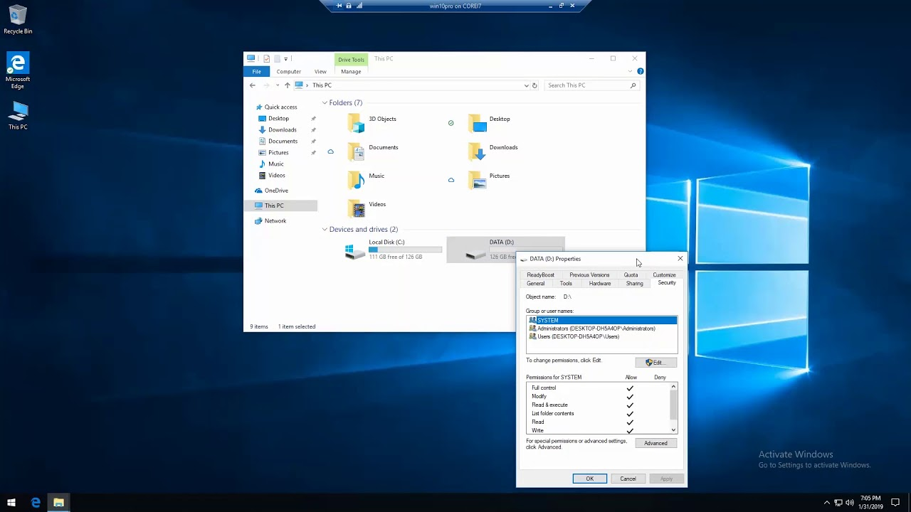 Disk D: is not accessible  Access is denied on Windows 10 – Fix the