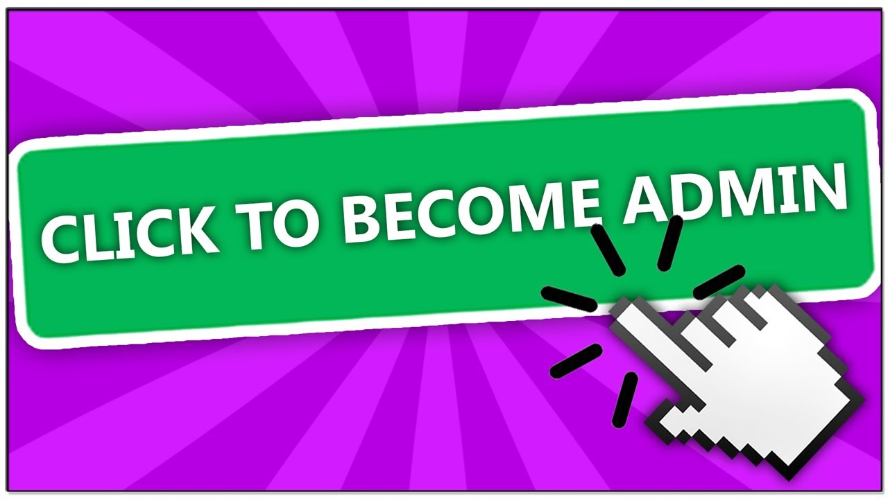 How To Become An Admin In This Roblox Game Youtube