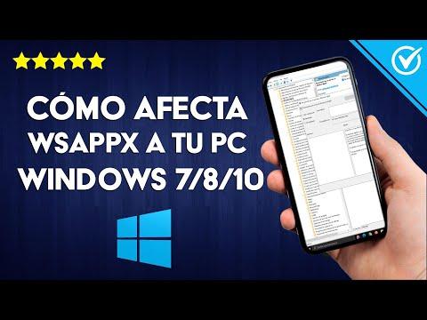 ¿Qué es Wsappx y Cómo Afecta a tu PC con Windows 7/8/10? - Eliminar Procesos Innecesarios