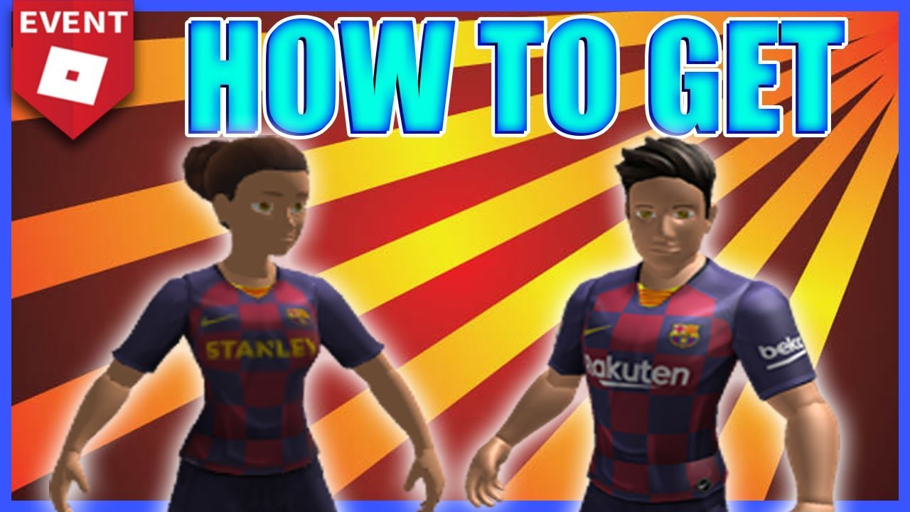 Event How To Get 2 Free Fc Barcelona Bundles Roblox Youtube