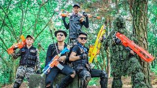 LTT Game Nerf War : Warriors SEAL X Nerf Guns Fight Inhuman Group Devil Hunting Police