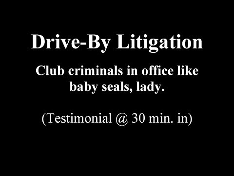 GOV'T CLUBS WOMAN, WOMAN LEARNS LAW / CLUBS BACK! (read text below 1st)