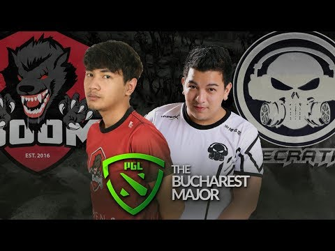 BOOM.ID vs Execration - The Bucharest Major SEA Qualifier Group Stage