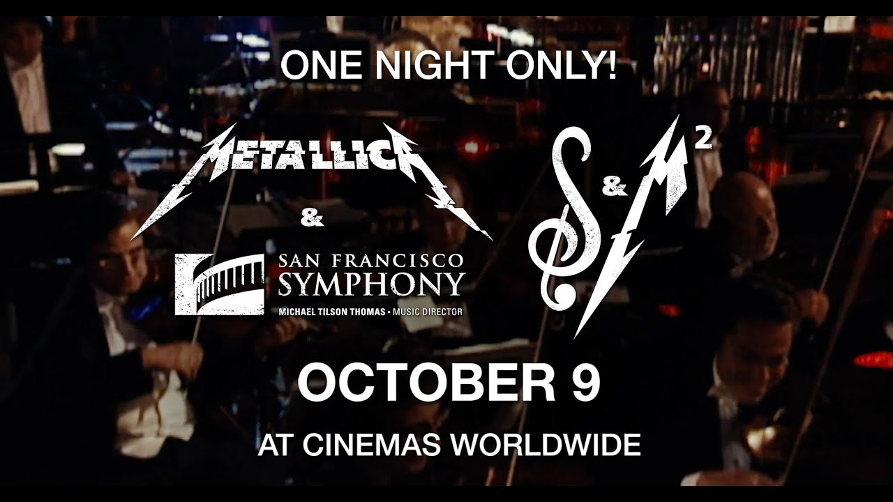 Metallica: S&M² - In Theaters October 9th (Teaser Trailer)