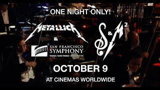 Metallica: S&M² - In Theaters October 9th (30-second Trailer)