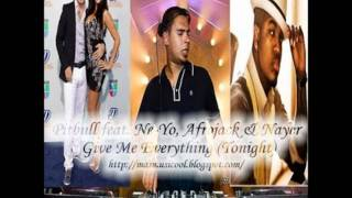 Give Me Everything [Afrojack Remix]
