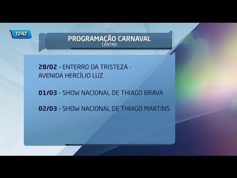 Programação de Carnaval da Capital começa nesta quinta-feira
