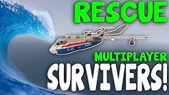 TSUNAMI RESEARCHER RESCUE  -  Stormworks: Build and Rescue  -  Multiplayer