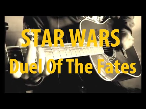 Star Wars - Duel Of The Fates - Acoustic Guitar
