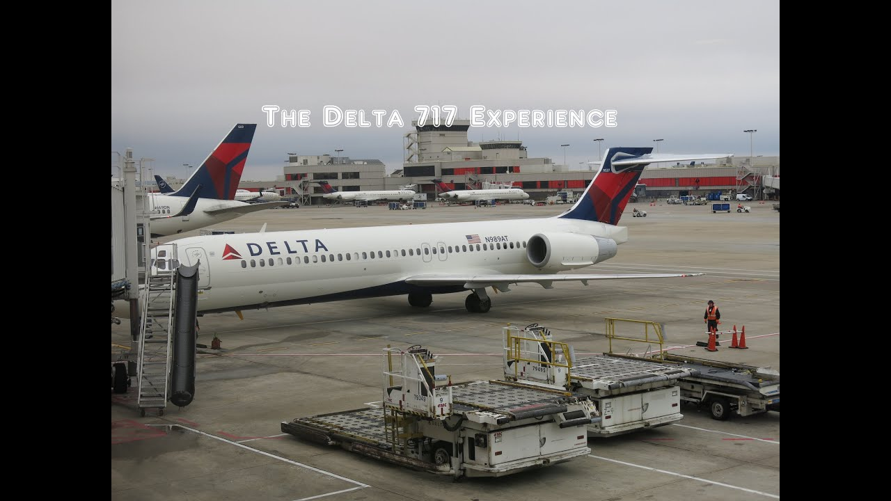 The Delta Air Lines Boeing 717 Flight Experience YouTube