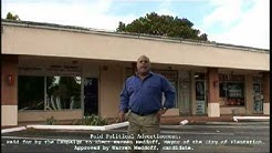 Warren Meddoff Candidate for Mayor of the City of Plantation. Plantation, FL