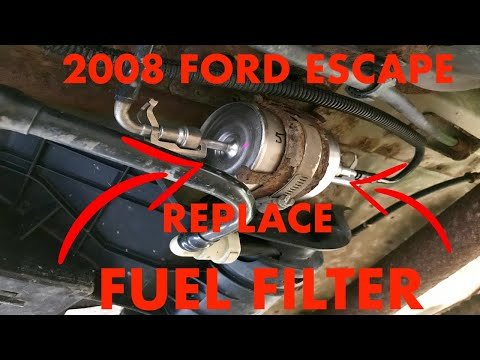 2008 Ford Escape Fuel Filter Replacement