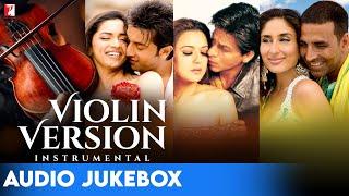 Violin Version   10 Soulful Melodies   Audio Jukebox   Instrumental   Manas Kumar