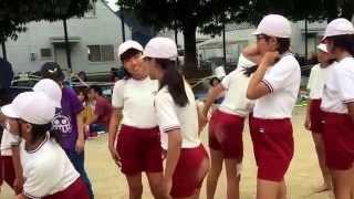 UNDOUKAI ( Gincana ) 多米小学校の運動会
