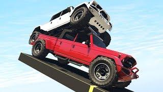 Сумасшедшие гонки на секретных машинах в GTA 5 Online | MYE