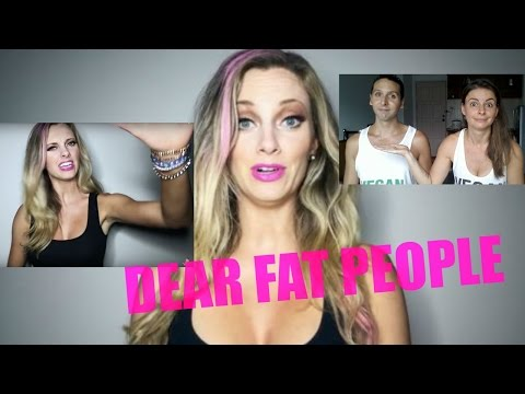Dear Fat People | what Nicole Arbour doesn't tell you!