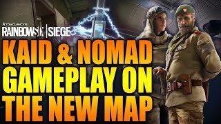 Rainbow Six Siege - In Depth:  KAID AND NOMAD GAMEPLAY ON THE NEW MAP