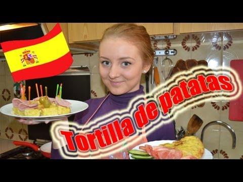 Испанская кухня. Картофельная тортилья (Tortilla de patatas)