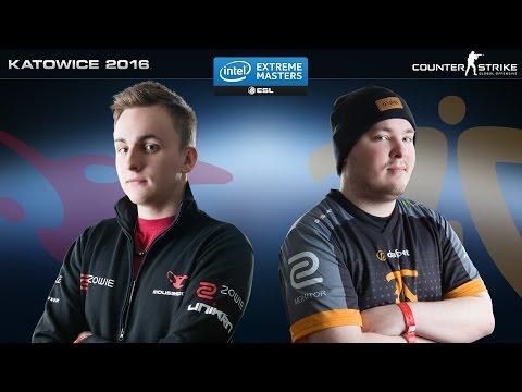 CSGO NaVi Vs Fnatic Dust2 IEM Katowice 2016 G