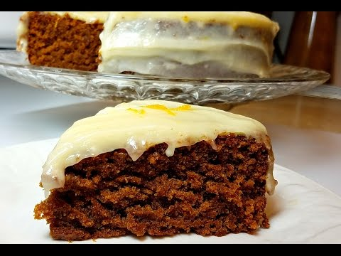 Gingerbread Cake Recipe - Egg Free Gingerbread Recipe