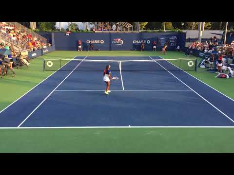 03_Sachia Vickery vs Sofia Kenin (US Open 2017 - 2nd Round)