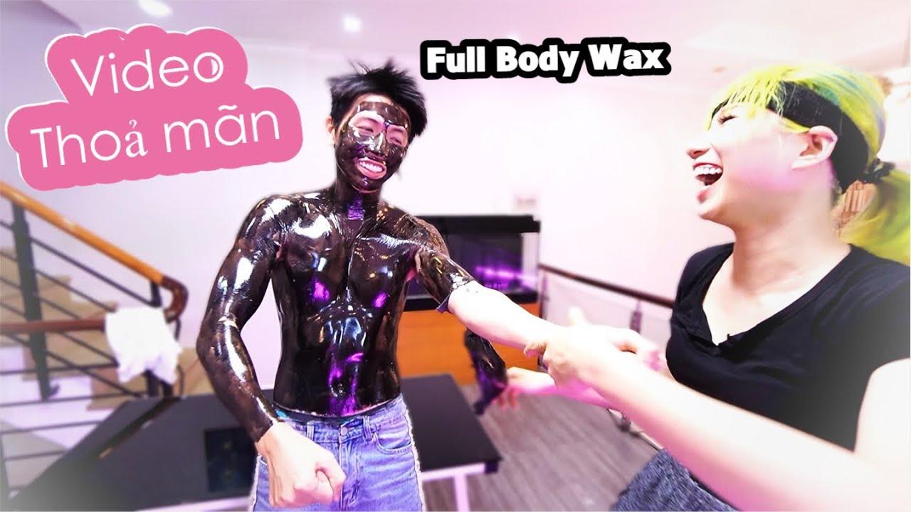 Thử Lột Mụn Toàn Thân -  Full Body Wax | H&M CHANNEL