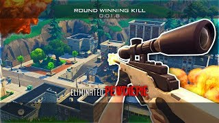 THE MOST INSANE FORTNITE TRICKSHOT - THAT HAD TO BE AIMBOT!!? - Fortnite Battle Royale Trickshots