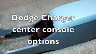 Dodge Charger police center console